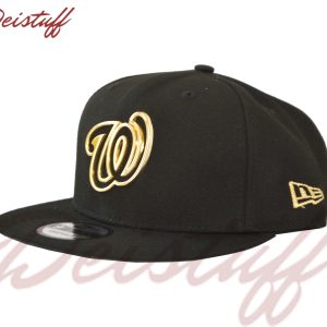 Gorra New Era MLB LOGO DORADO W WASHINGTON NATIONALS